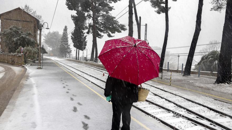 Una ola de frío siberiano llega el martes a Mallorca con nieve y tormentas