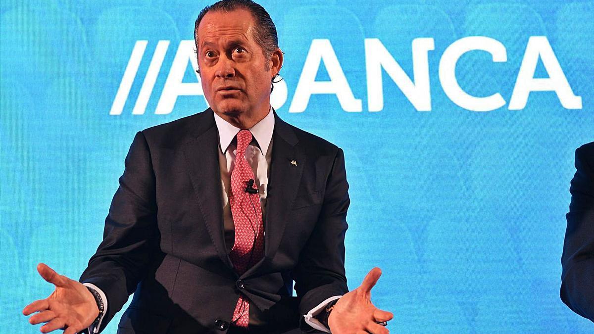 Juan Carlos Escotet, presidente de Abanca. |   // CARLOS PARDELLAS