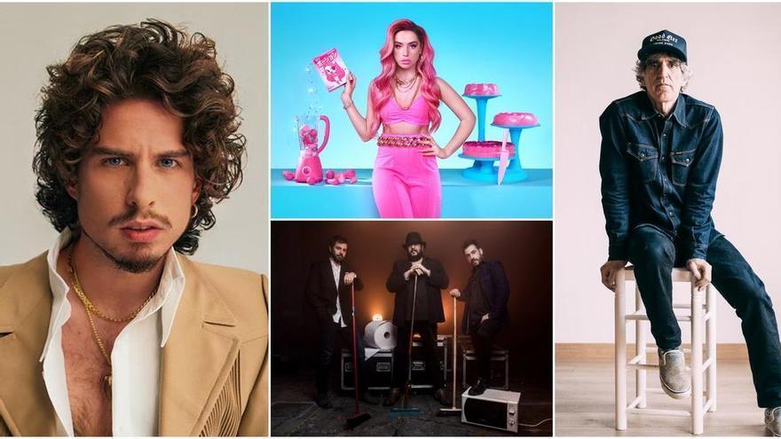 Mikel Erentxun, Kiki Morente, Lola Índigo... Estos son los conciertos de este fin de semana en Castellón