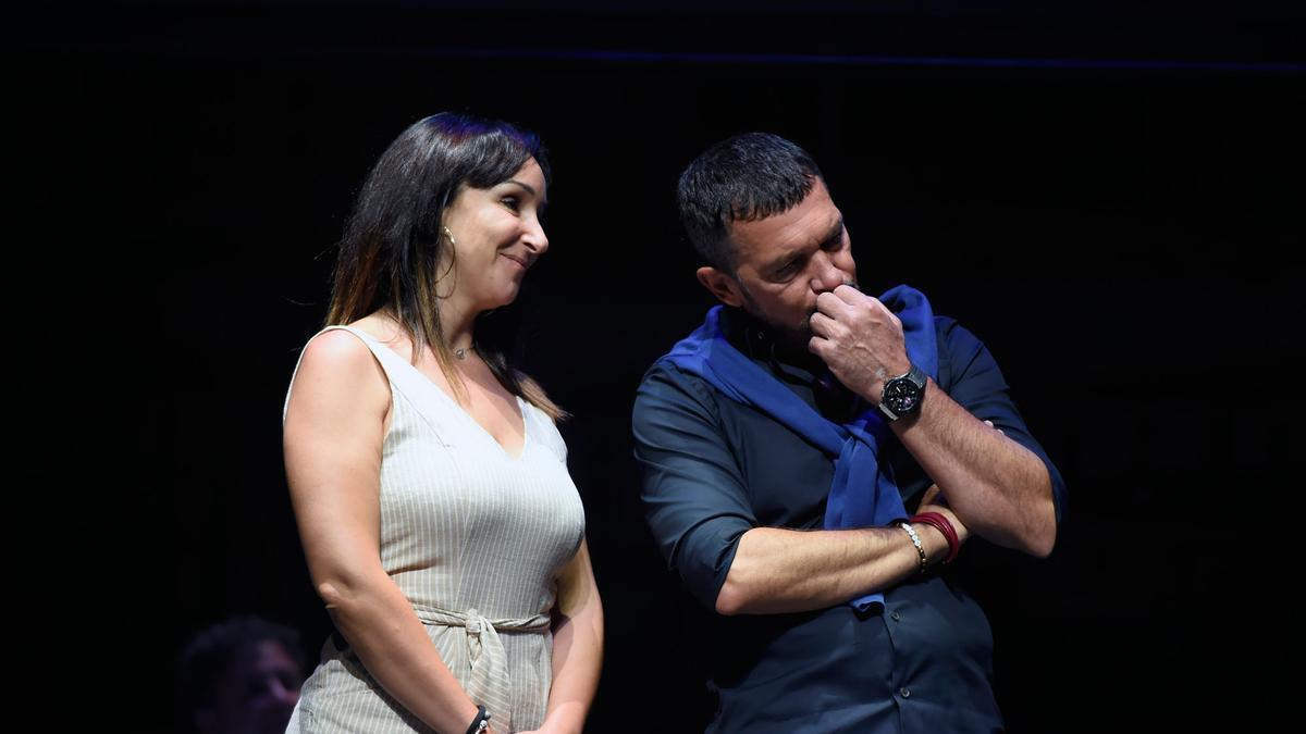Antonio Banderas presenta el musical 'Company' en el Teatro Soho CaixaBank
