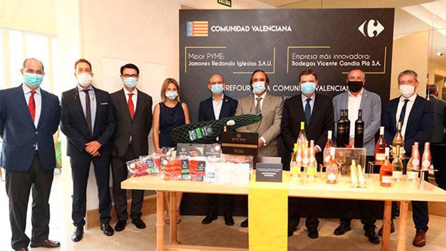 Carrefour refuerza su compromiso con las empresas de la Comunidad Valenciana