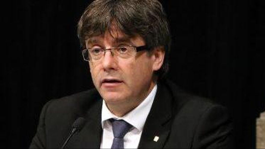 Puigdemont avisa que no acceptarà una inhabilitació del Tribunal Constitucional