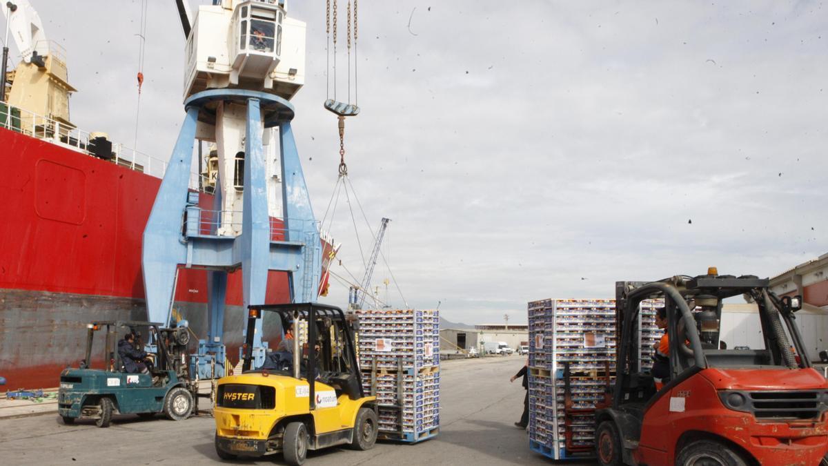 Las exportaciones desde Castellón han tenido un buen inicio de año.