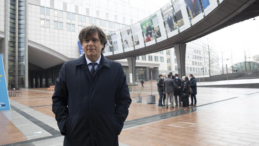 """Puigdemont, sobre el informe del Tribunal de Cuentas: """"Franquismo de fondo y forma"""""""