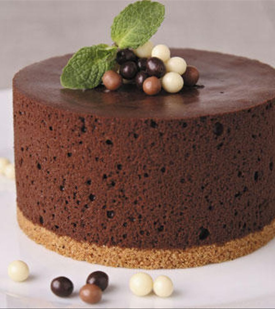 Cómo hacer una espectacular tarta fría de chocolate