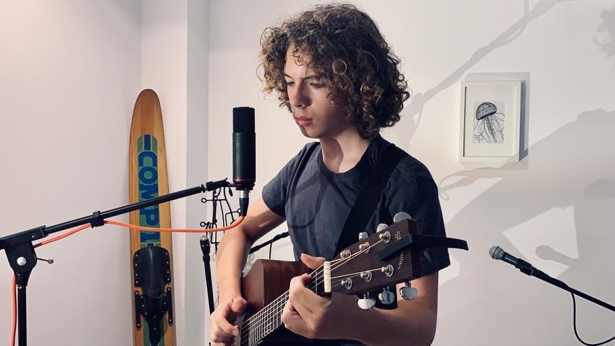 David Cabot, un enamorado de Pink Floyd que se estrena en 'La Voz Kids'