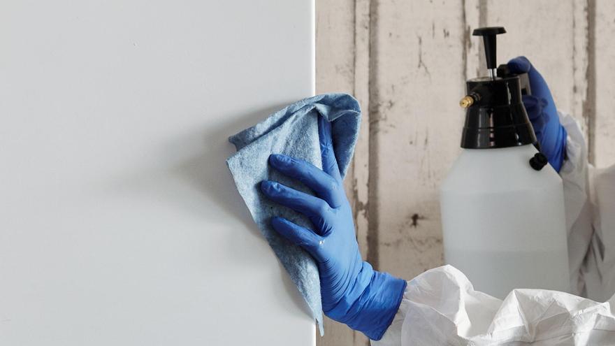 Cómo limpiar las paredes