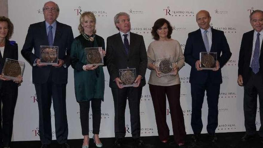 Medallas del Teatro Real de Madrid