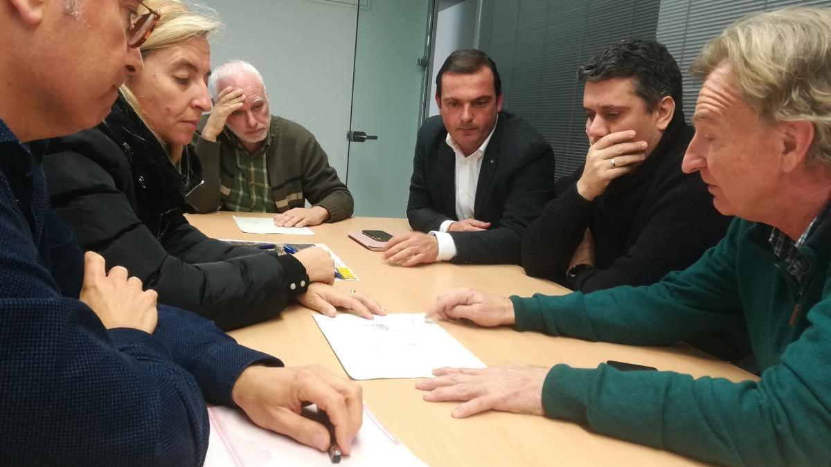 Peñíscola peleará en Madrid por la reparación del único acceso al litoral sur