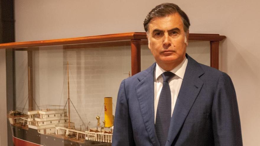"""Alejandro Aznar: """"Algunas navieras van a tener que amarrar parte de sus flotas por la crisis sanitaria"""""""