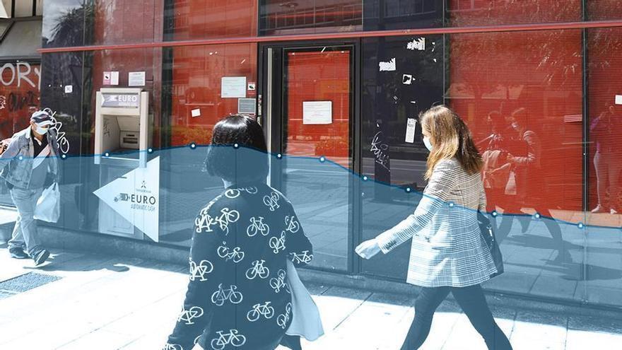 El ajuste sin fin de la banca deja a media Galicia al borde de la exclusión financiera