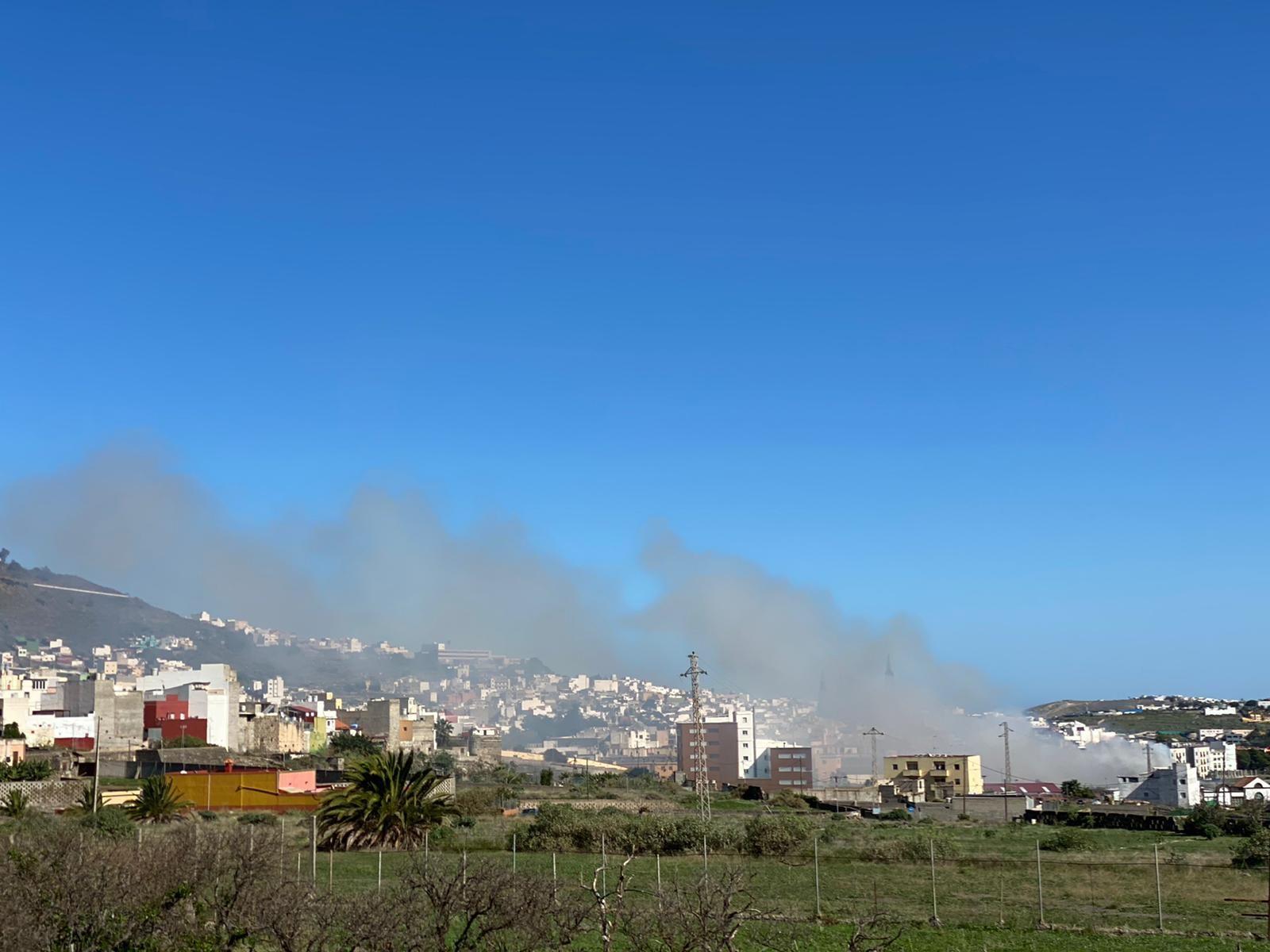 Incendio en Arucas