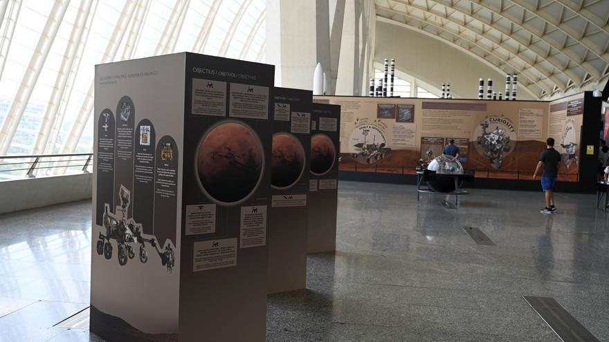 El Museu de les Ciències amplía la exposición de Marte