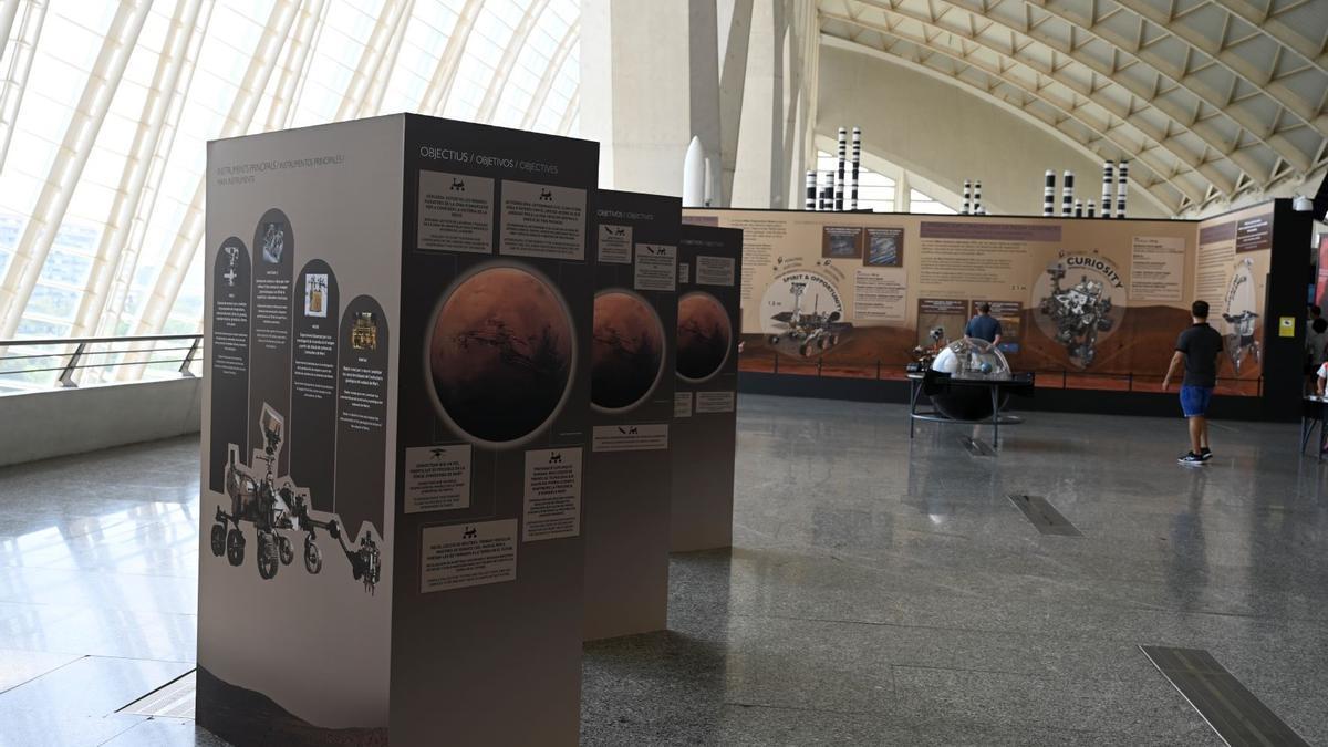 El Museu de les Ciències amplía los contenidos de la exposición 'Marte. La conquista de un espacio