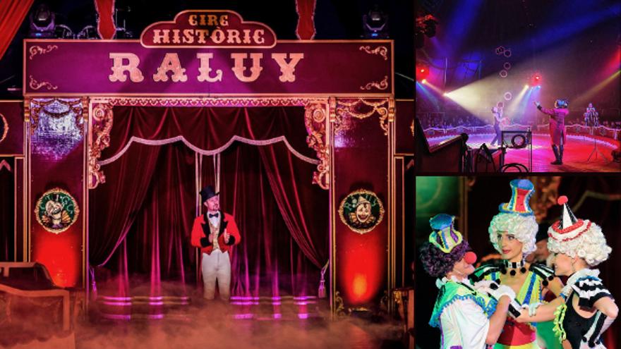 El Circ Històric Raluy presenta Vekante