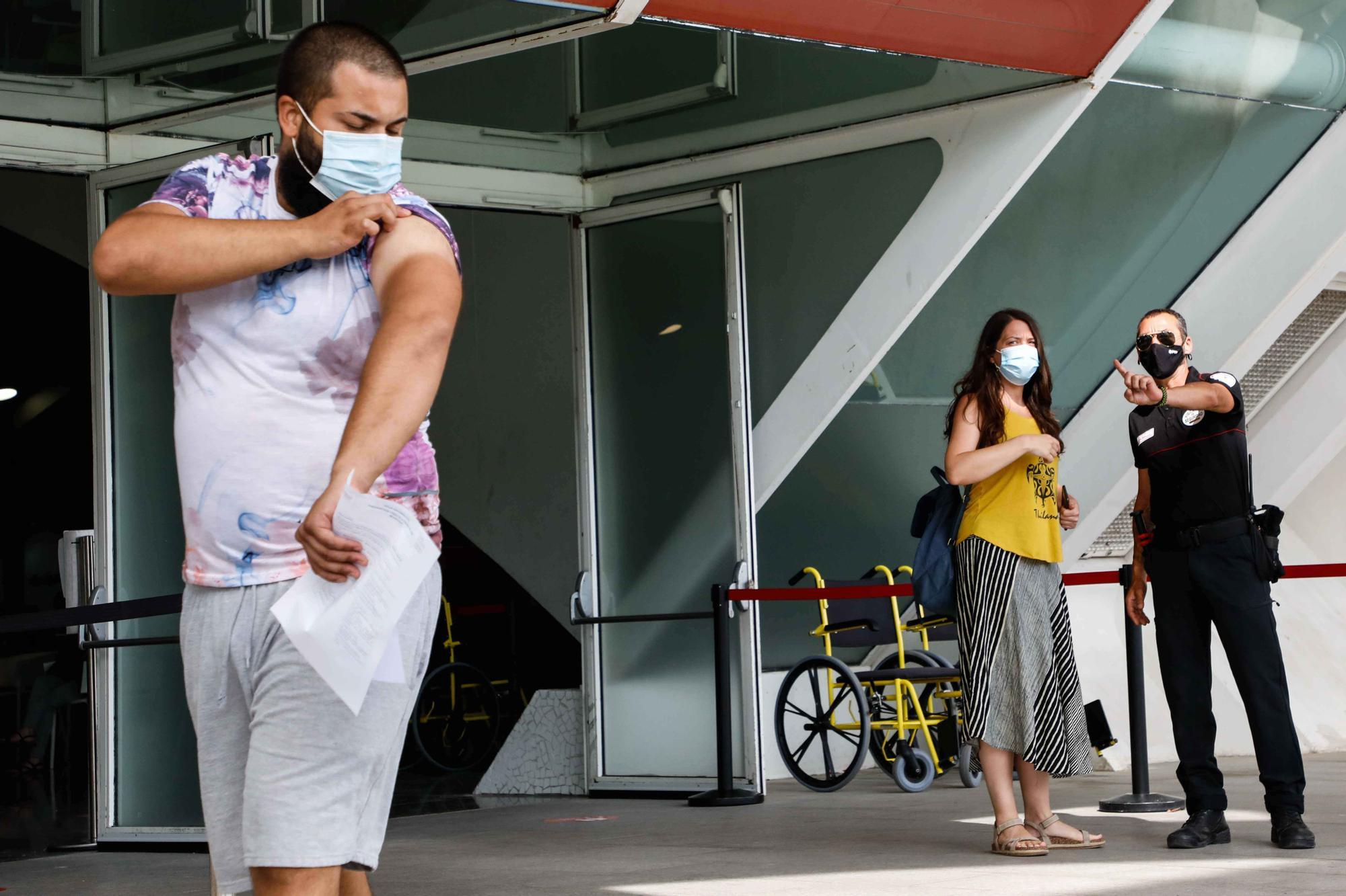 Vacunaciones en la Ciudad de las Artes