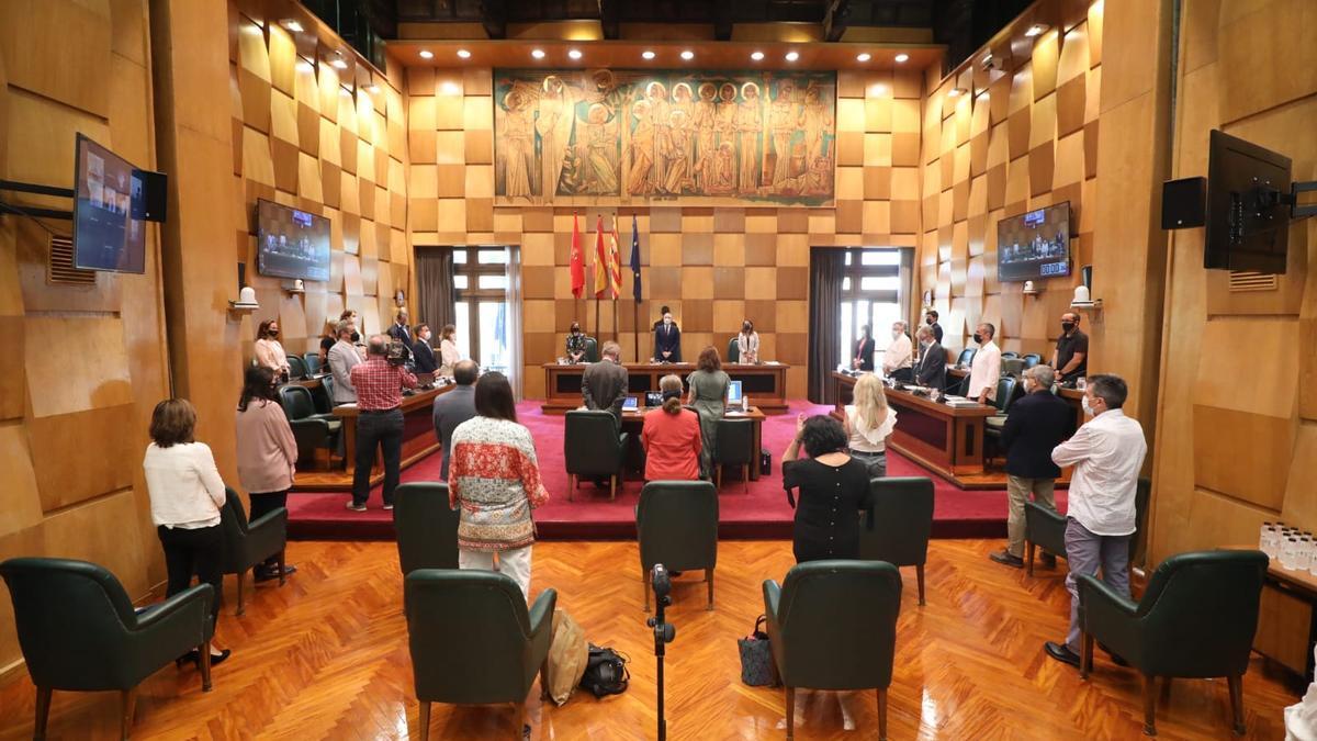 La oposición del Ayuntamiento de Zaragoza tumbó las tesis del equipo de gobierno.