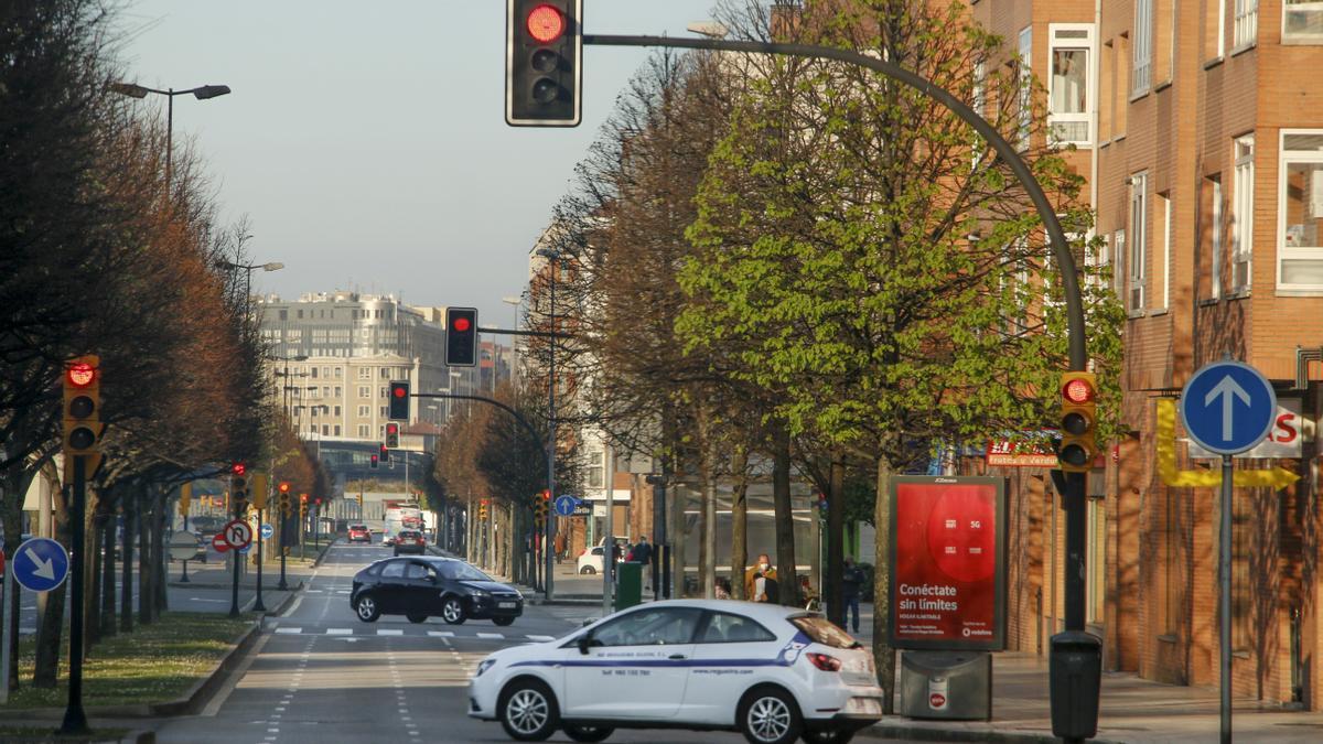 Avenida de Juan Carlos I.