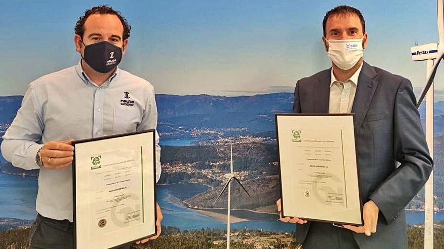 Nauta Sanxenxo logra una reducción de emisiones de carbono de hasta el 90%