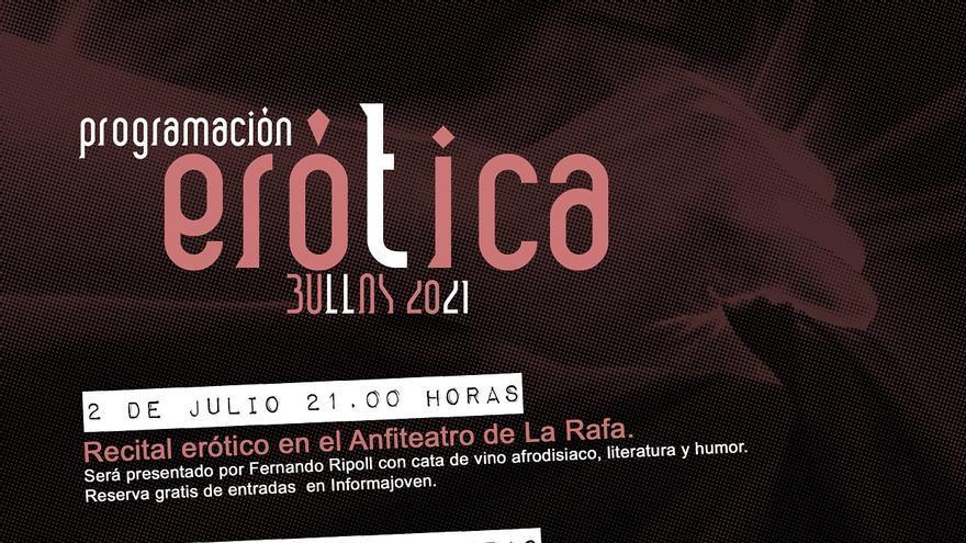 Presentan la programación de 'Erótica 2021' en Bullas