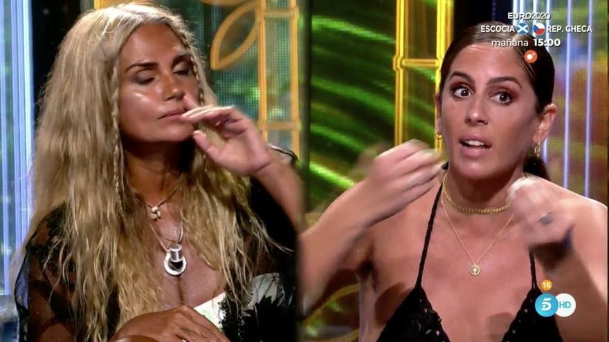 """Anabel y Sylvia Pantoja se ven las caras y protagonizan un fuerte enfrentamiento: """"¡La envidia la tienes tú!"""""""