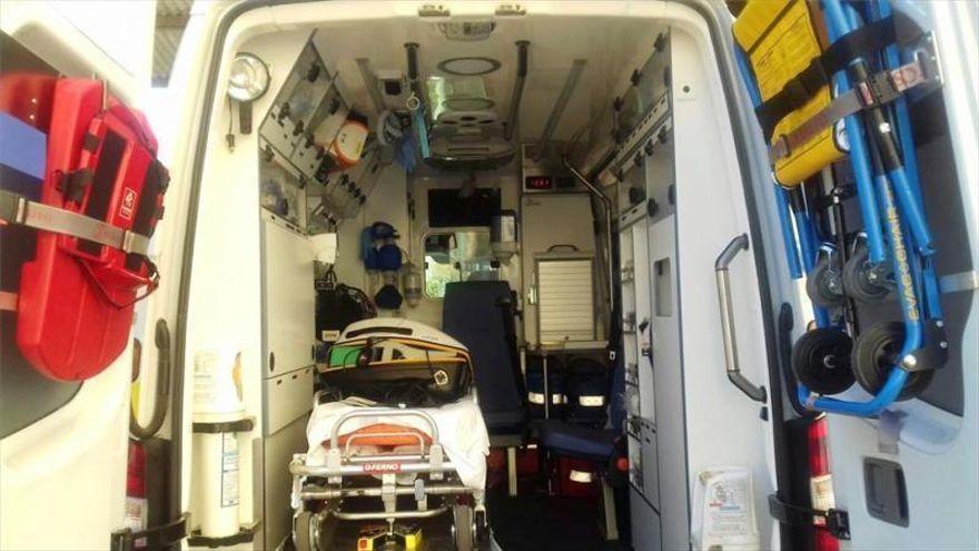 Herida una mujer tras ser atropellada en Huerta de San Rafael