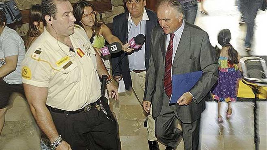 El juez aborta el intento de Antoni Pascual de evitar la acusación en el caso Peaje