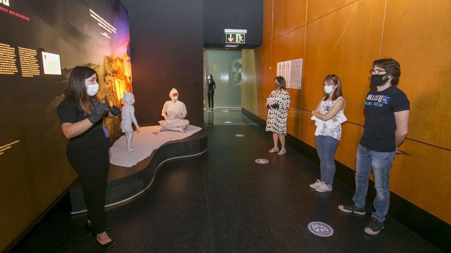 La pandemia vacía los museos