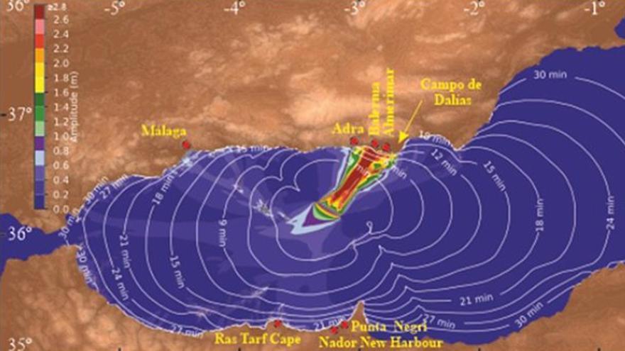 La falla de Averroes, en el Mar de Alborán, tiene más potencial para generar tsunamis de lo que se creía, según CSIC