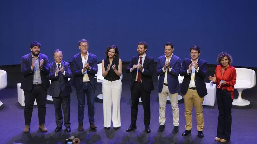 Todos los asistentes al Congreso del PP en Valencia