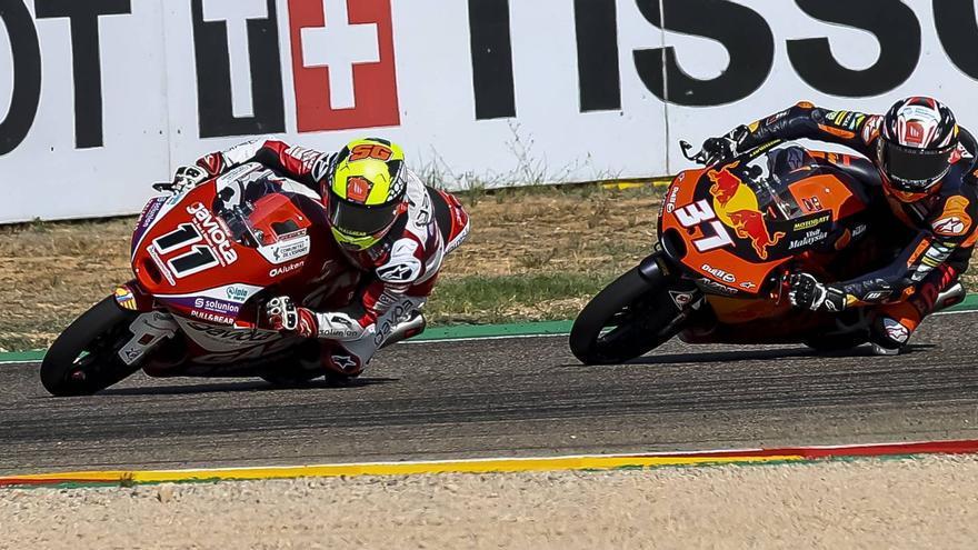 Sergio García encara la recta final del Mundial de Moto3 sin margen de error