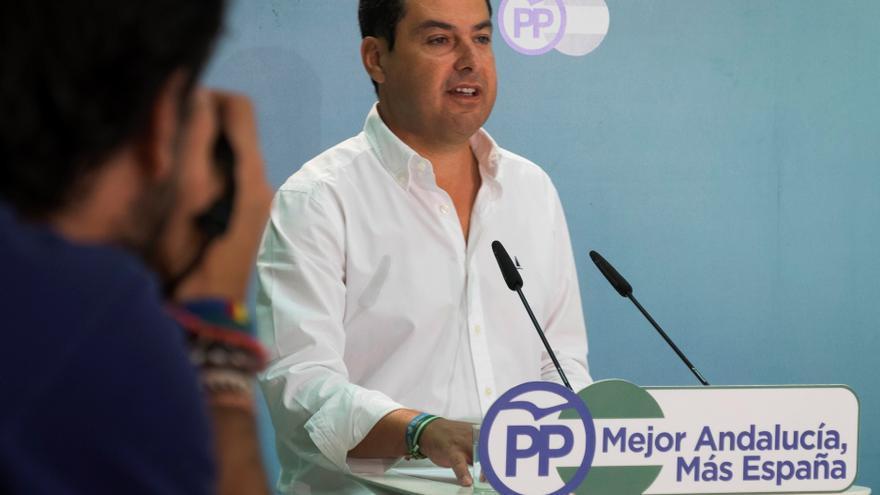 Juanma Moreno optará a la reelección en el congreso del PP andaluz en noviembre