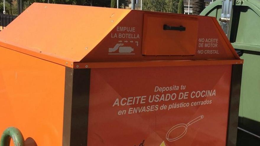 El PSPV de Massanassa propone la vuelta de los contenedores de aceite usado