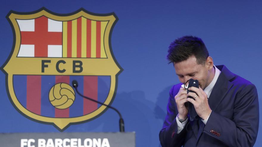 Leo Messi vuelve al FC Barcelona