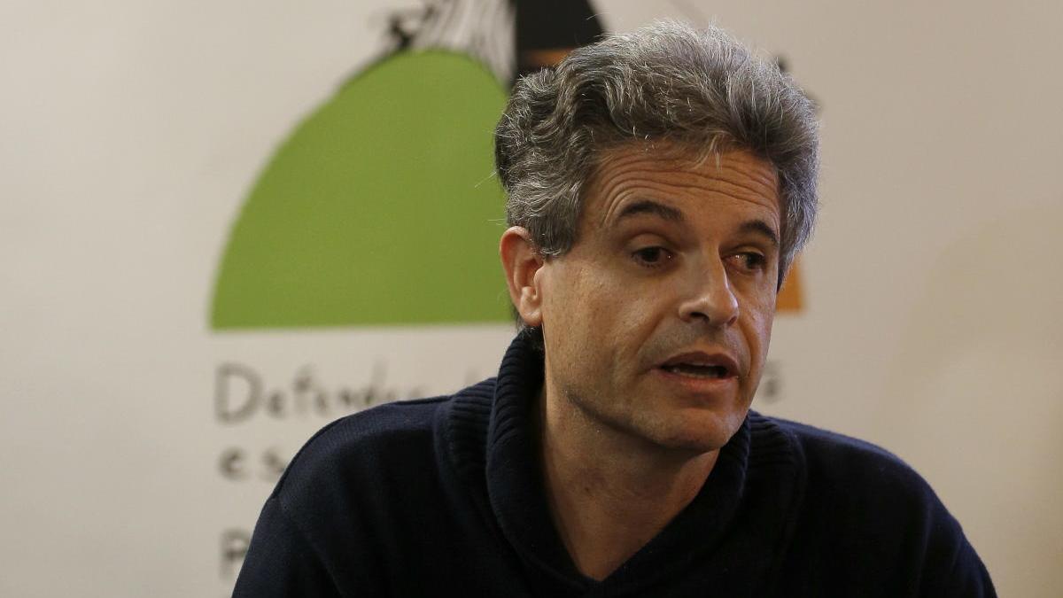 El hasta ahora director de Greenpeace España, Mario Rodriguez