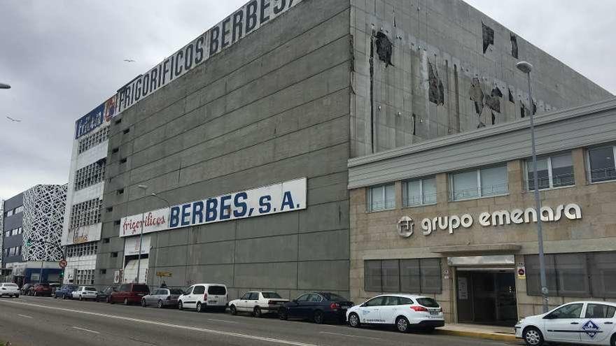 La antigua planta de Frigoríficos Berbés estará otro año sin obras