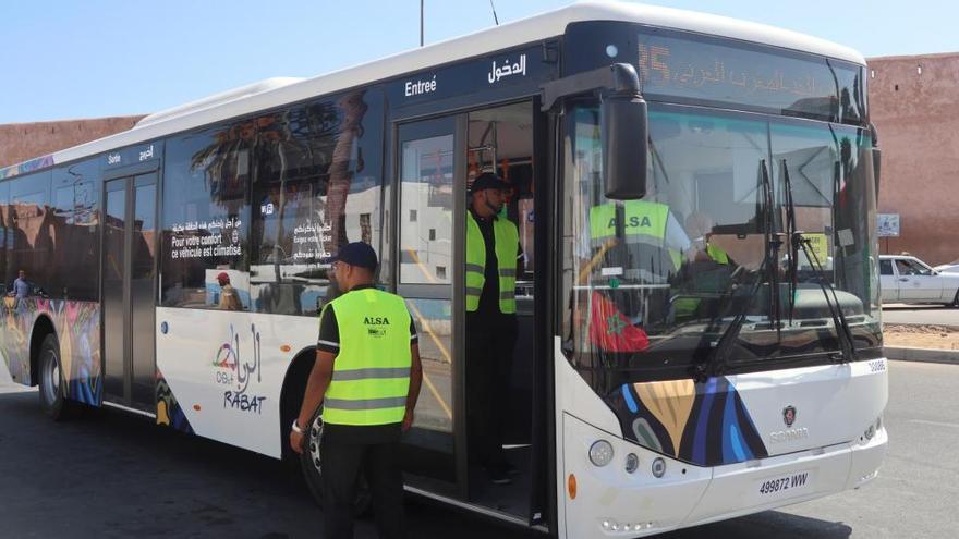 Alsa se hace con el transporte urbano de Casablanca