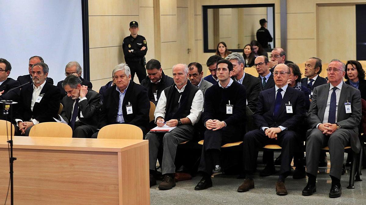 Primera sesión de juicio en la Audiencia Nacional. | // FERNANDO ALVARADO