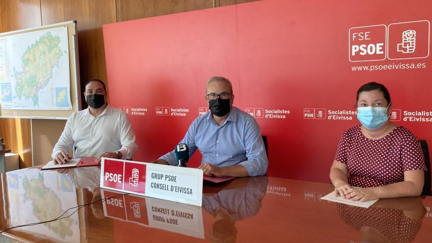 El PSOE lamenta «la parálisis e incumplimientos» del Consell de Ibiza