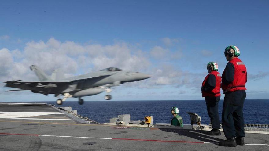 "Flugzeugträger ""USS Abraham Lincoln"" wird vor Mallorca erwartet"