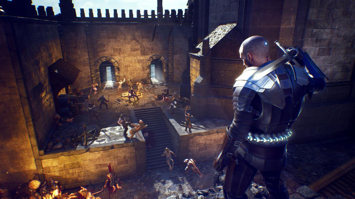 Captura de imagen del videojuego.