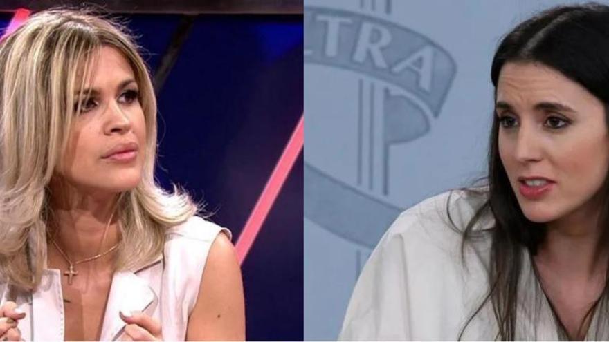 Ylenia Padilla declara la 'guerra' a Irene Montero por Plácido Domingo
