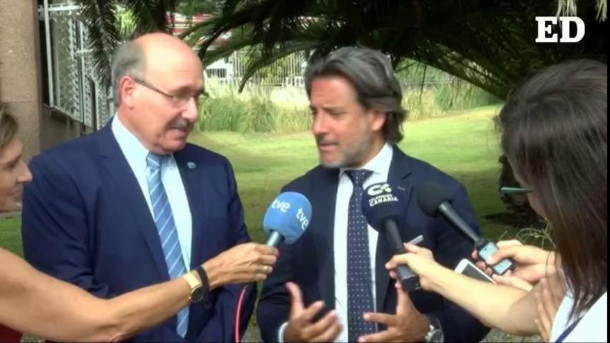 El presidente del Parlamento de Canarias apoya la construcción del TMT en las islas