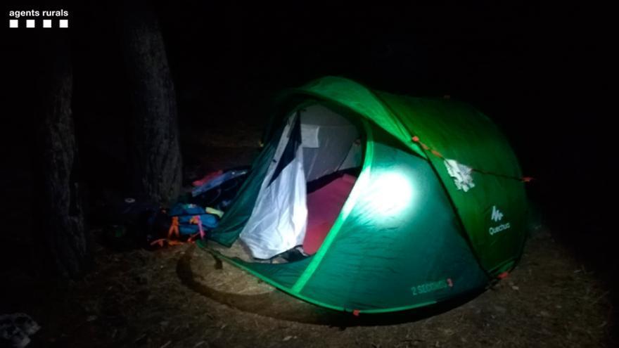 Els agents rurals denuncien una acampada lliure al Parc de Cap de Creus
