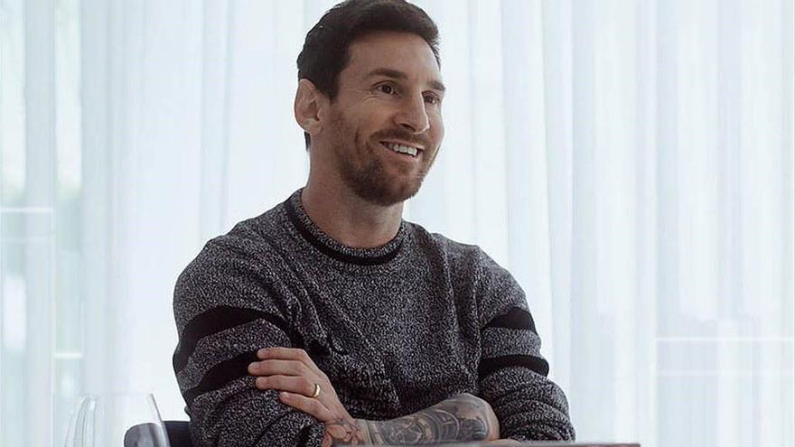 "Messi a Évole: ""No sé si voy a irme; esperaré a que acabe la temporada"""
