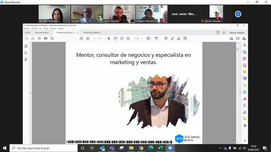 Mentoring de CEOE Tenerife y Cabildo: nuevos webinars para las empresas