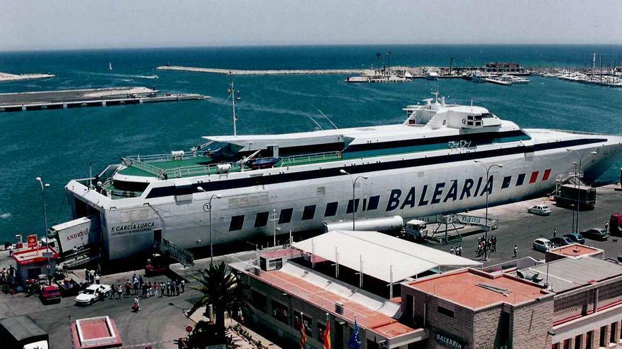 Baleària celebra los 20 años de la alta velocidad en la conexión con Baleares