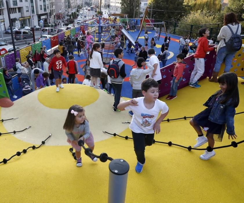 Así es el nuevo parque infantil de Jenaro de la Fuente