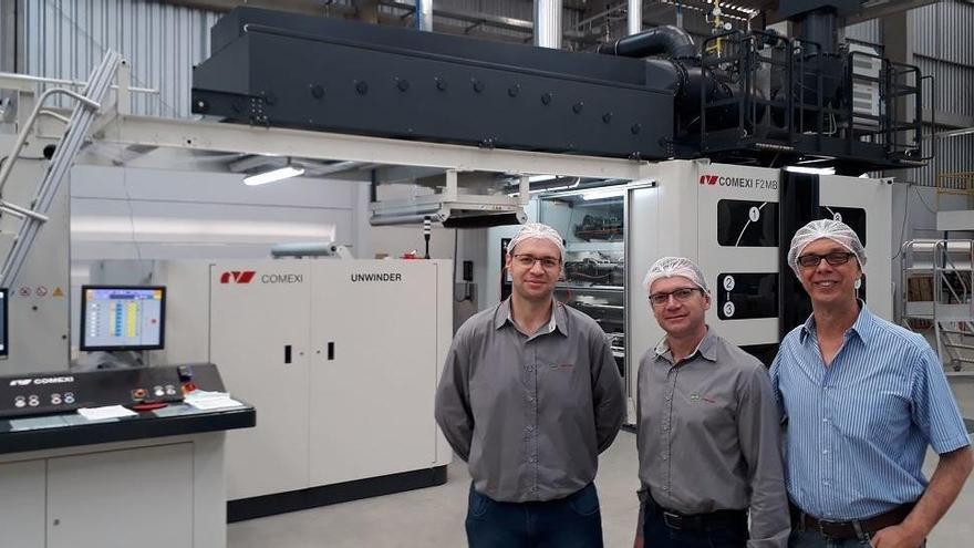 Comexi es consolida a Europa i Amèrica amb la venda de cinc grans impressores