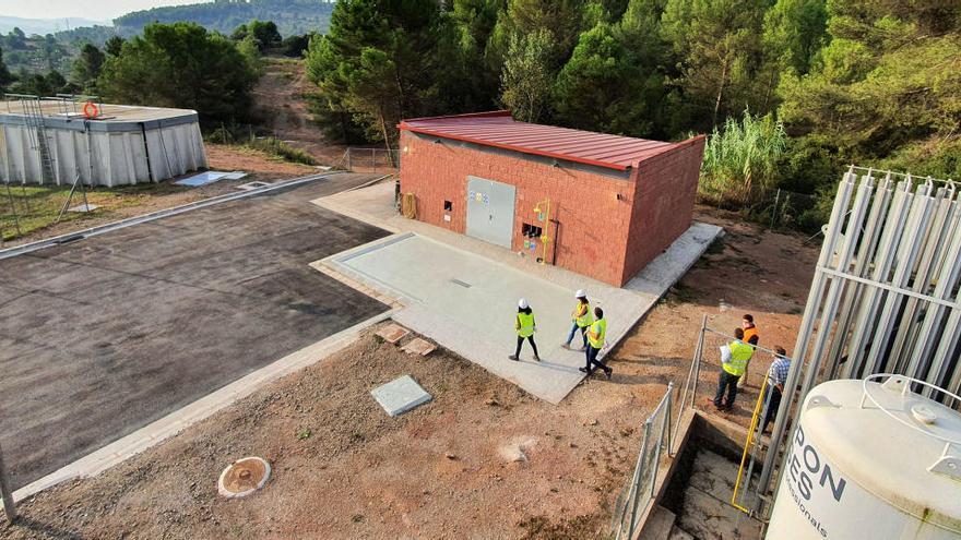 El Consell finalitza la millora de l'abastament d'aigua a Sallent, Avinyó, Artés i Calders